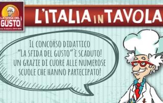 Concorso didattico: L'Italia in tavola è stata un successo!