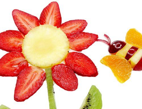 3 divertenti modi per giocare con la frutta