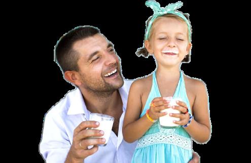 famiglia latte
