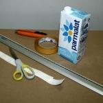 Come costruire un portamonete fai da te con il cartone del latte