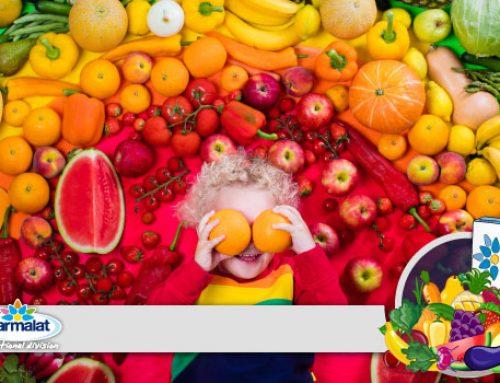 """""""I cinque sensi"""": impariamo a seguire una dieta equilibrata con l'aiuto dei colori!"""