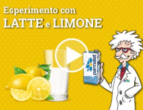 Un esperimento con latte e limone!