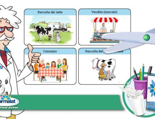 Nuova scheda didattica sulla filiera del latte per la Scuola Primaria