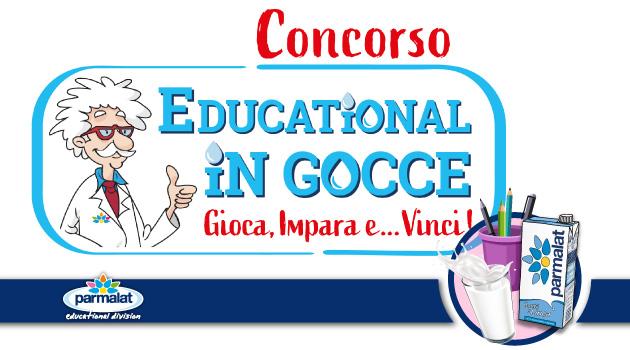 Scopri il nuovo concorso Educational In Gocce!