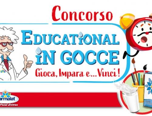 C'è ancora tempo per giocare con il concorso Educational In Gocce!
