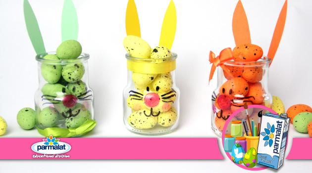 Il coniglietto nel vasetto: una simpatica idea di riuso per la Pasqua!