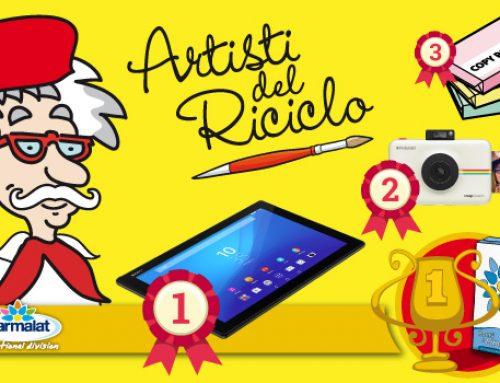 È arrivata la classifica dei vincitori del Concorso Artisti del Riciclo