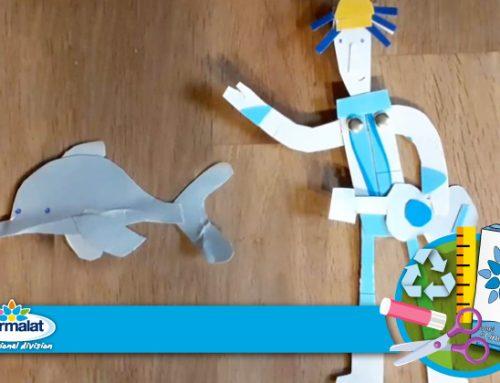 In cerca di una pausa creativa? Scopri i video tutorial di #iomidiverto con il Professor Strampalat