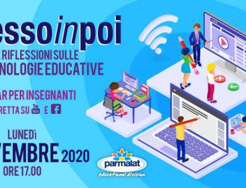 #DADessoinpoi: il webinar di Parmalat Educational sulle strategie educative della scuola che verrà