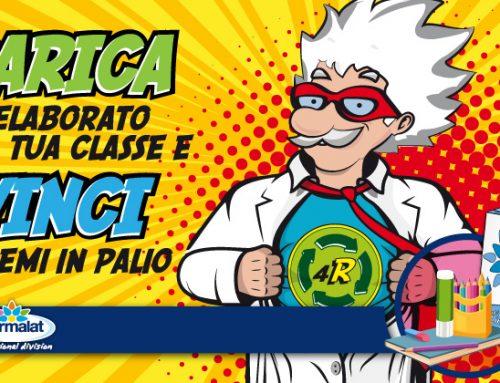 «Strampalat e i Supereroi del Riciclo»: carica l'elaborato della tua classe e vinci i premi in palio