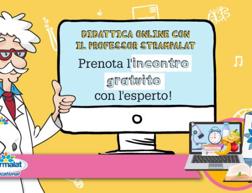 Prenota l'incontro gratuito con l'esperto, approfitta della Didattica Online con il professor Strampalat!