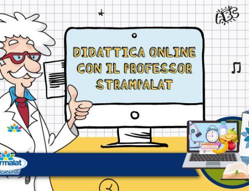 «Didattica Online con il Professor Strampalat»: incontri gratuiti con gli esperti e tantissime attività educative