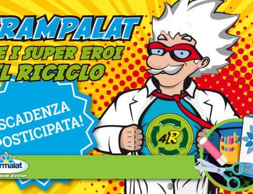 «Strampalat e i Supereroi del Riciclo»: prorogate le scadenze del concorso!