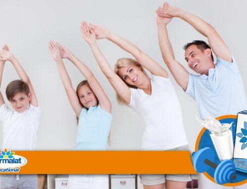 Sport in casa? Si può, con le attività di Latte in Movimento!