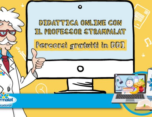 La DDI si fa originale e divertente con la Didattica Online con il Prof. Strampalat